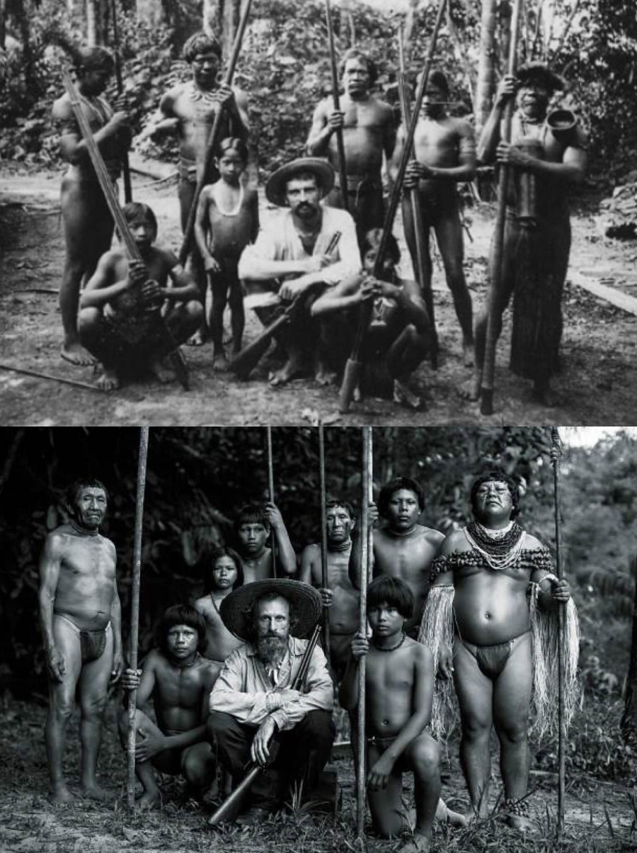 Embrace of the Serpent diptych