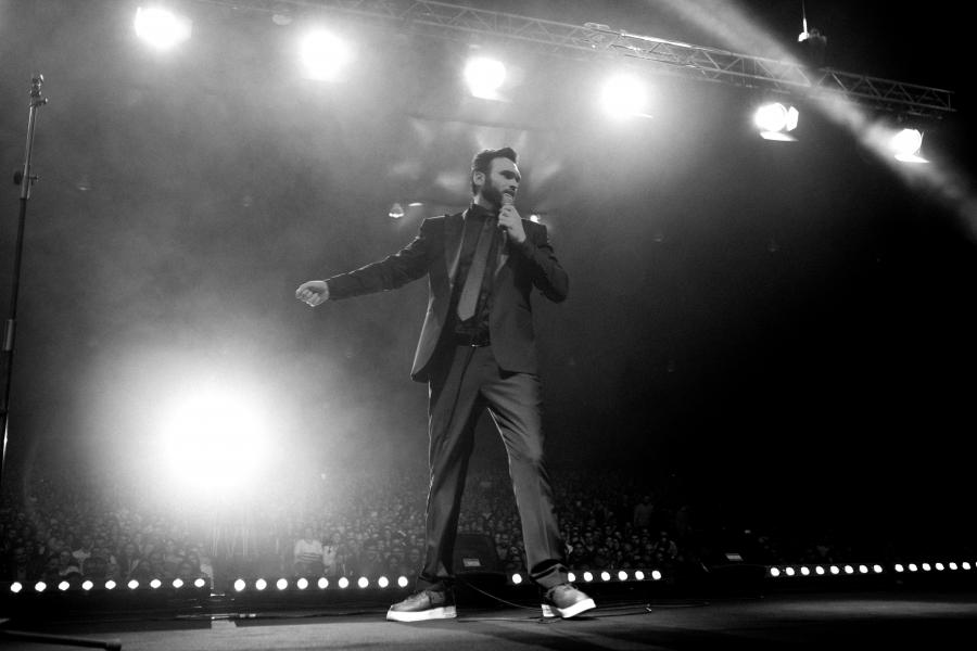 Nemr on stage