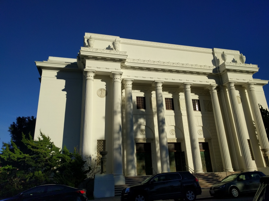The Internet Archive's headquarters, in San Francisco