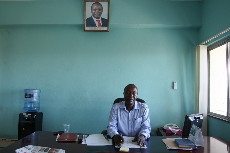 Mombasa County Commissioner Evans Achoki