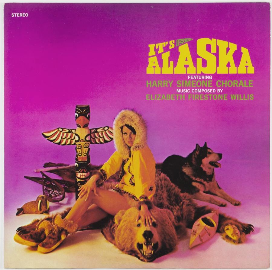 It's Alaska vinyl LP cover