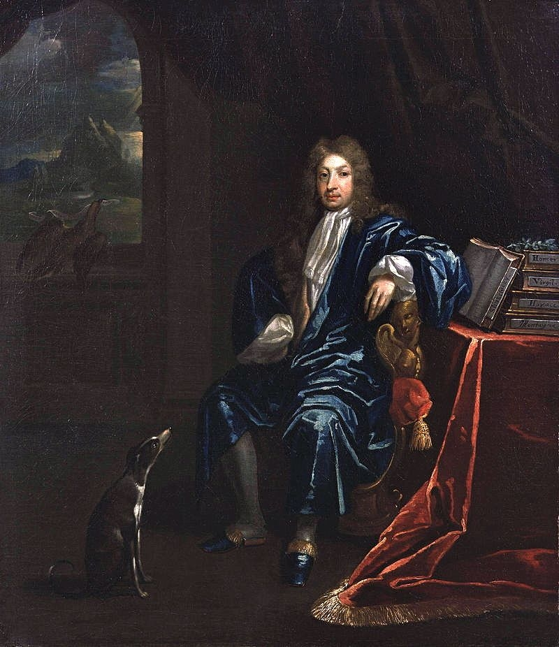 Portrait of John Dryden by James Maubert, circa 1695