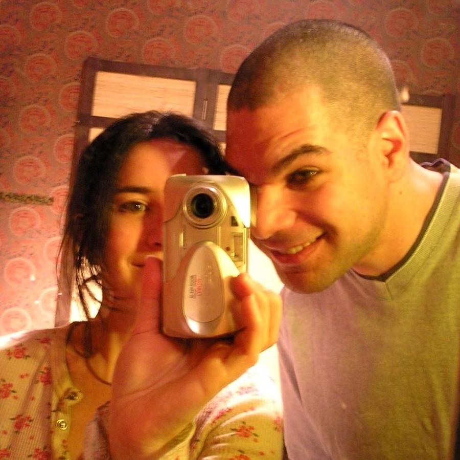Alina Simone and her American husband Josh Knobe
