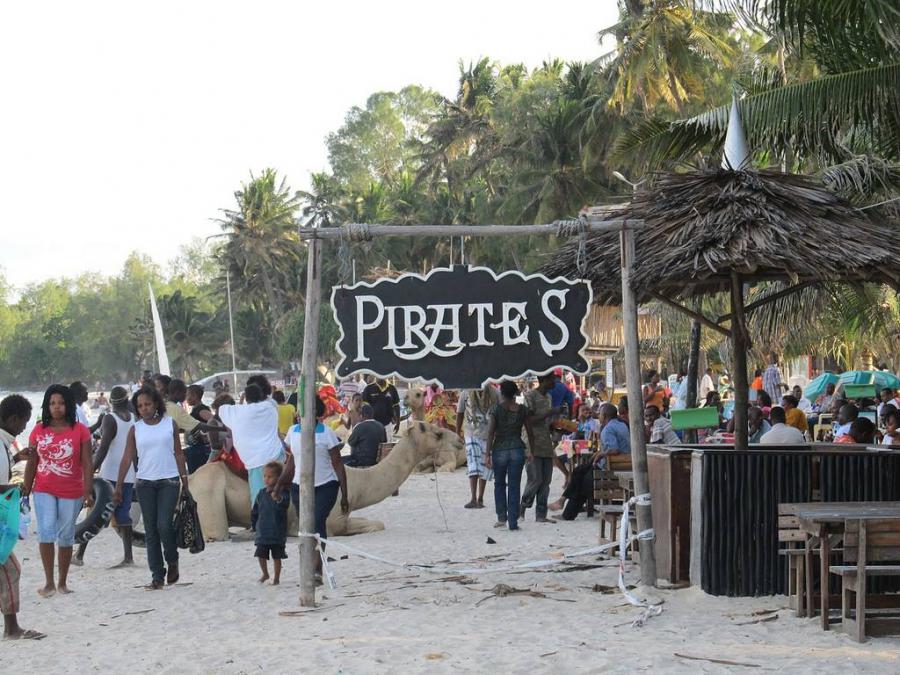 Jomo Kenyatta Public Beach Pirates