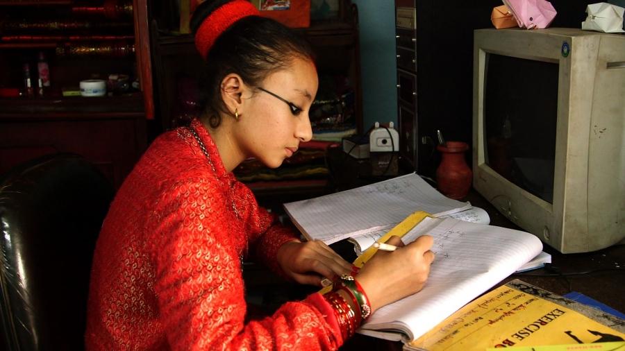Nepal Child Goddess