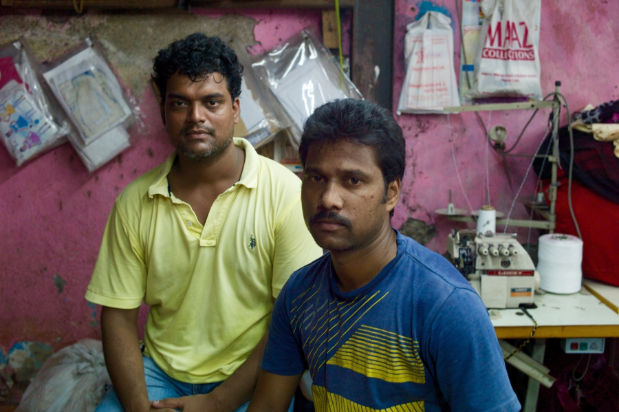 Praful Kamble, left Jittendra Kamble, right (no relation), also with Sneha