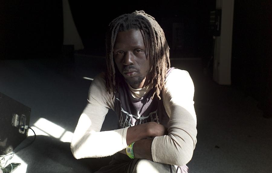 Emmanuel Jal contrabanned sxsw