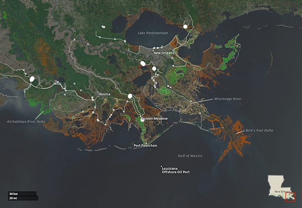 Louisiana's Master Plan for the Coast