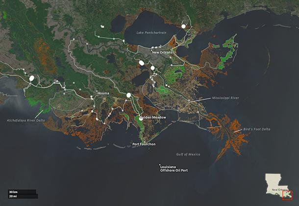 Louisiana's Master Plan for the Coast