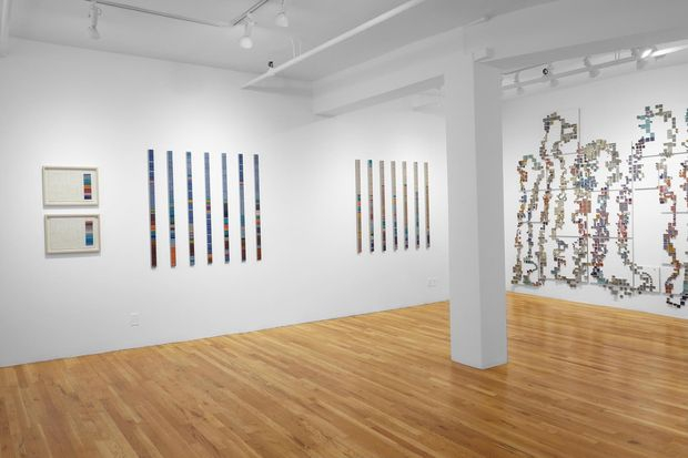 Laurie Frick's art exhibit