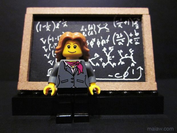 Lisa Randall minifigure