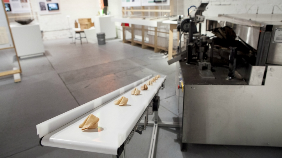 The Fortune VII, invented by Yong Sik Lee, is now on display at the Museum of Food and Drink in Brooklyn, New York.