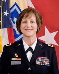 Major General Megan Tatu.