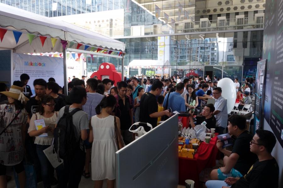 Shenzhen Maker Faire 2015 scene