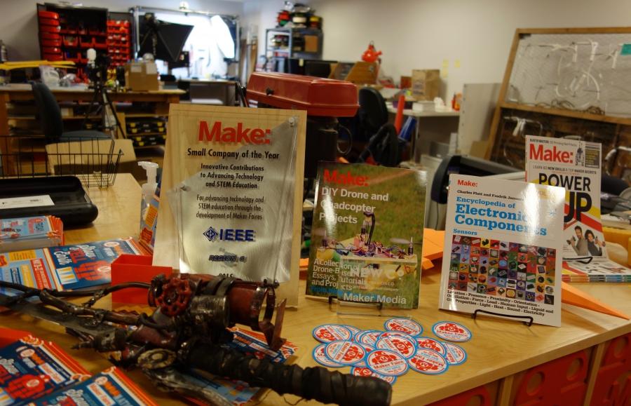 Maker magazine and other paraphenalia