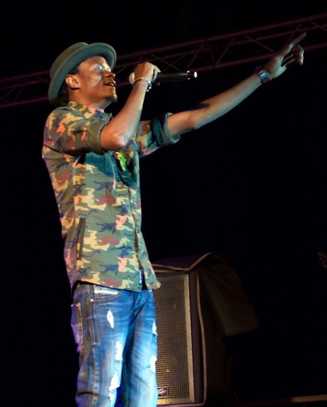 One of Mali's boldest and most political rappers, Master Soumi.
