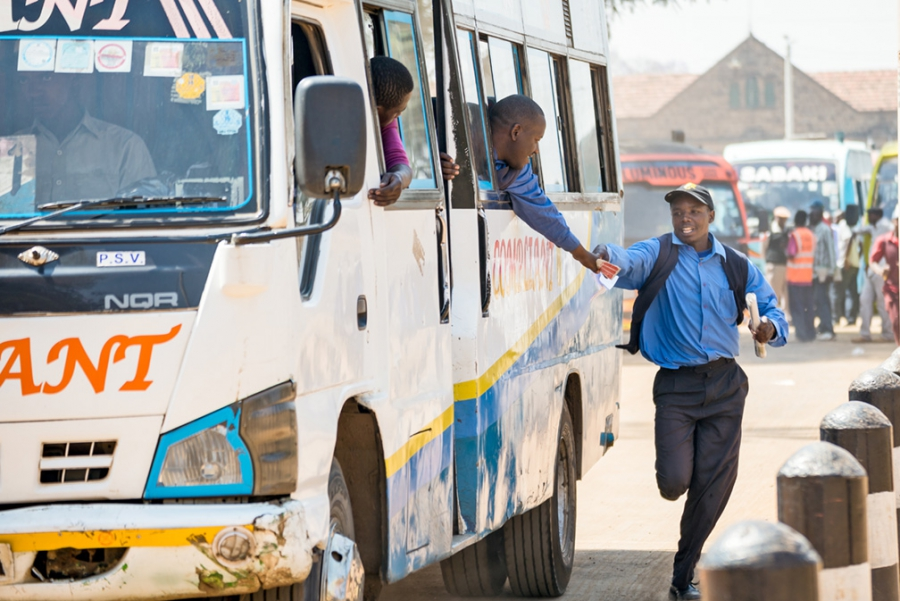 The matatu industry in Nairobi is run predominantly by men. But Margaret Wairimu is bucking the system.