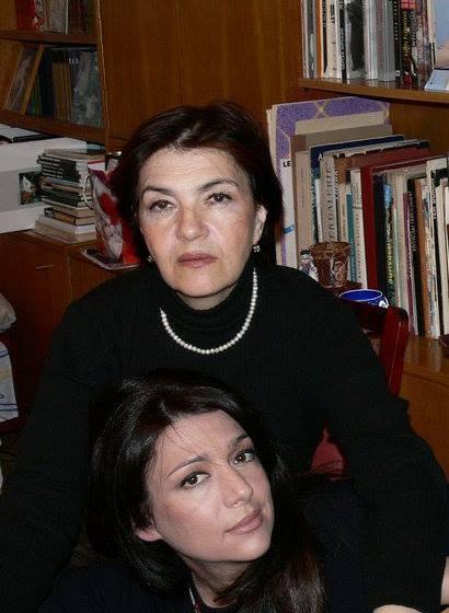 Dovlatov's wife, Elena (above), and daughter, Katherine.