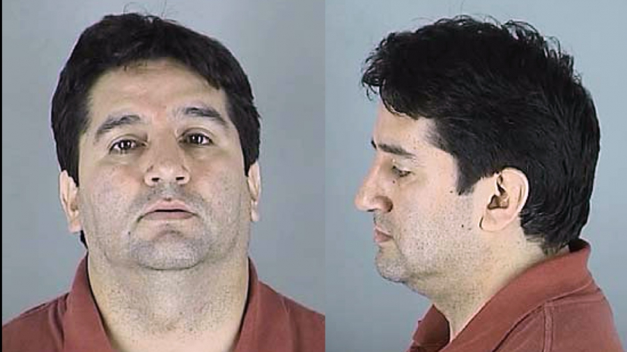 "Father Francisco ""Fredy"" Montero's mugshot."