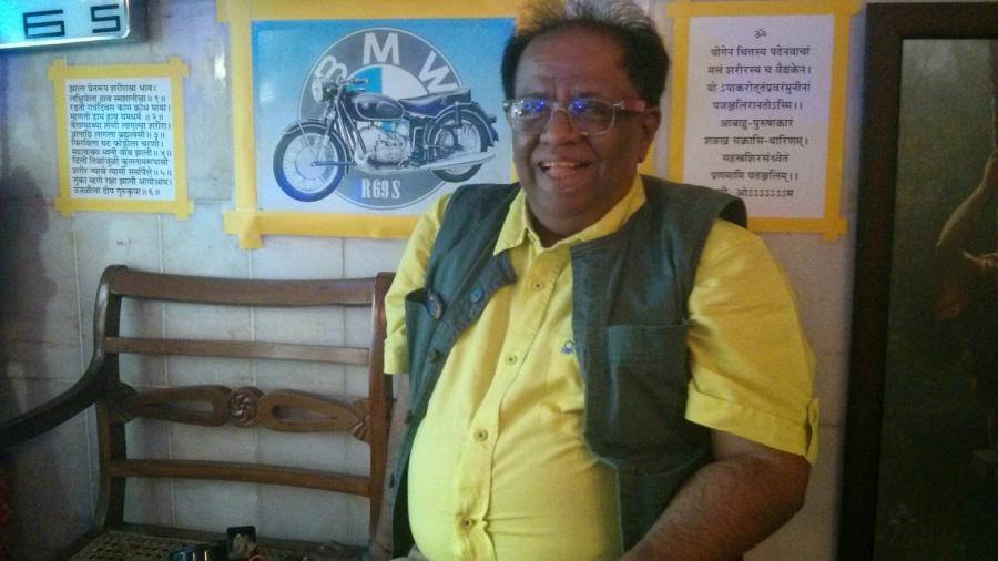 Indian economist Jayraj Salgaonkar, creator of the horn usage meter called Oren.