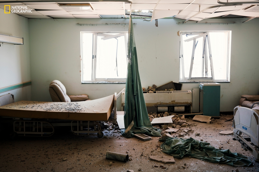 ISIS Fallujah hospital Nat Geo
