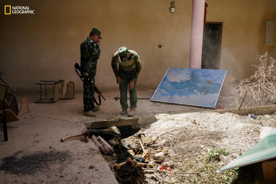 ISIS Fallujah shallow graves Nat Geo