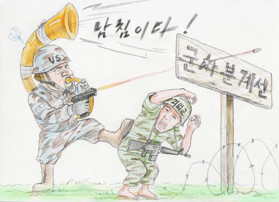 North Korean refugee Choi Seong-guk tells the experience of North