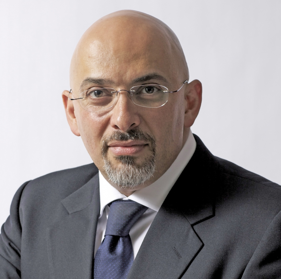 British MP Nadhim Zawahi of the Conservative Party