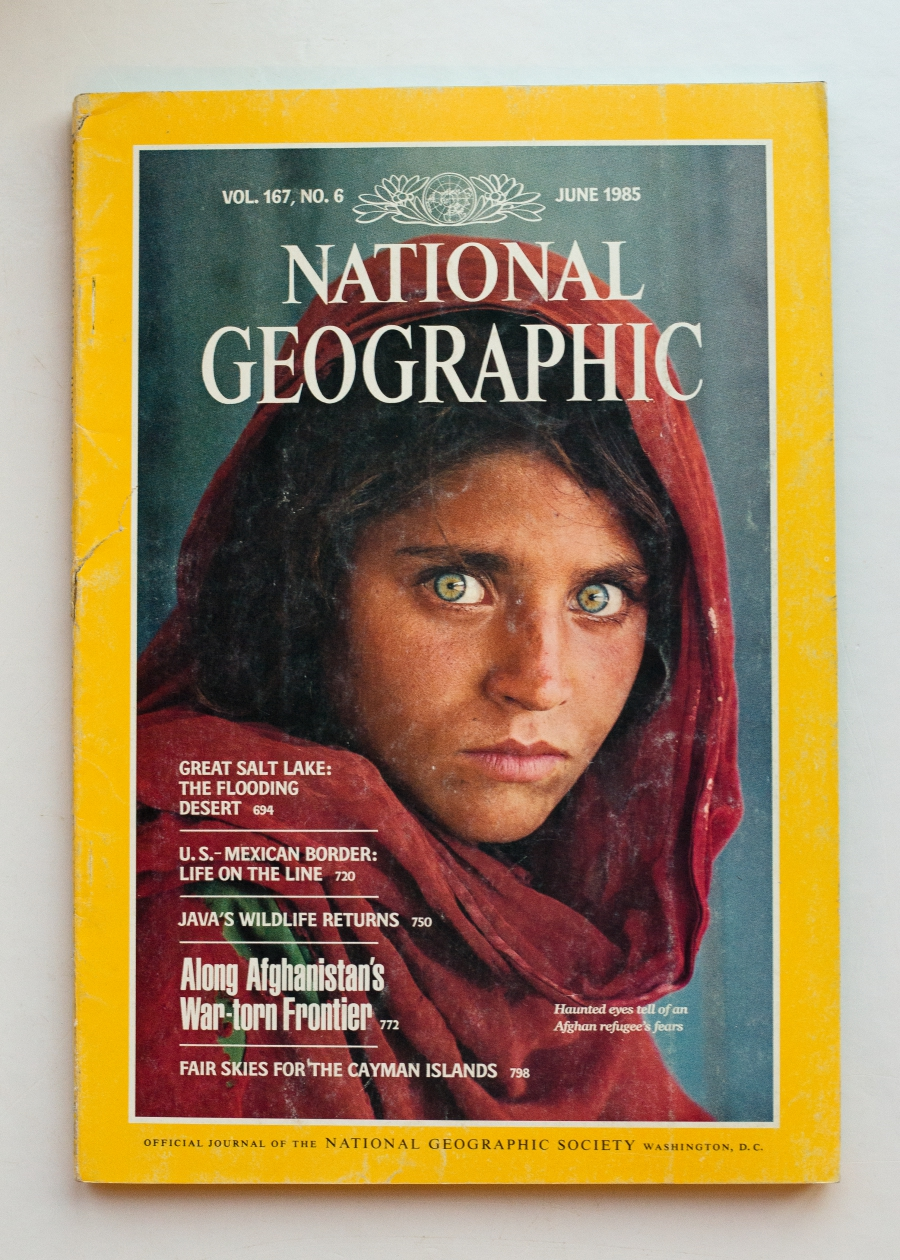 NatGeo Afghan Girl issue