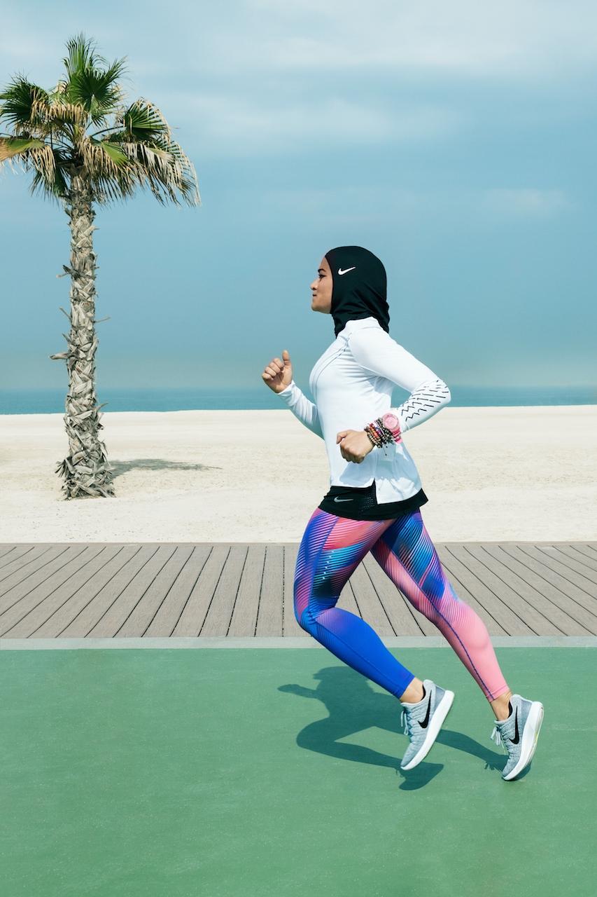 Nike hijab running