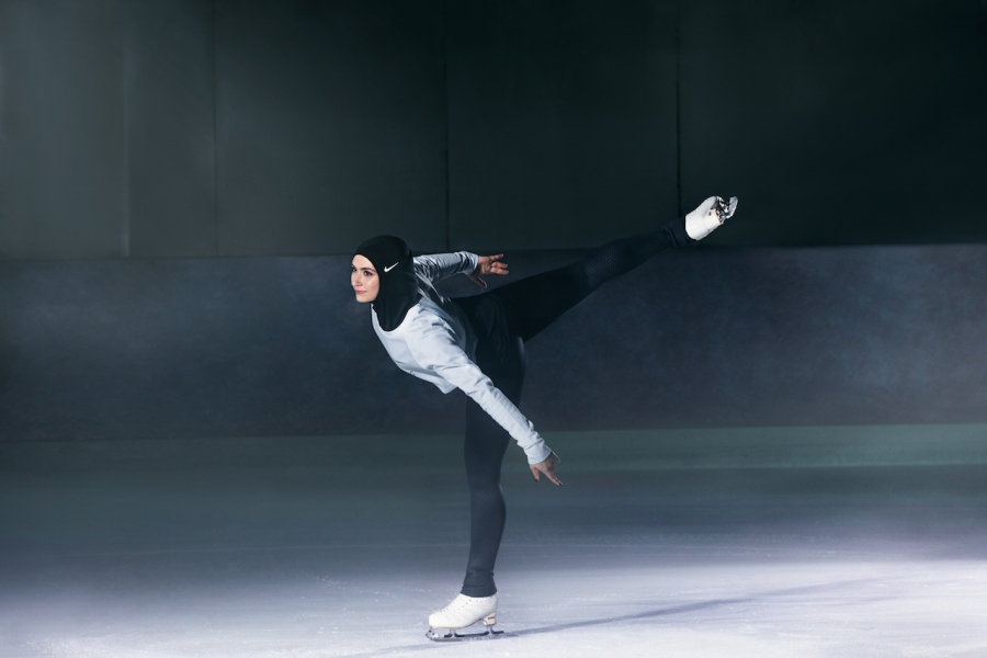 Nike hijab skating