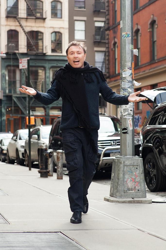 Oleg Frish in New York
