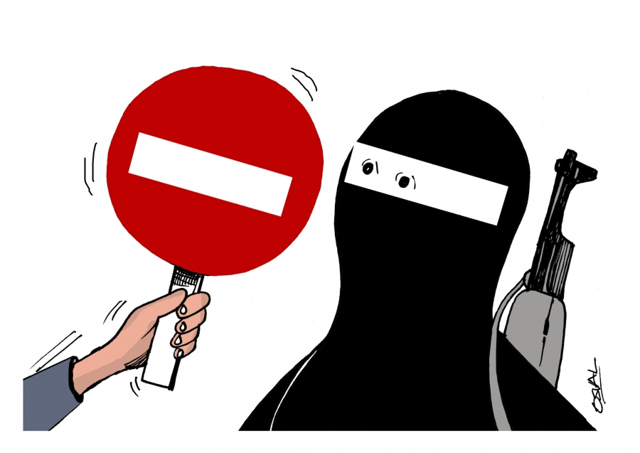'Stop ISIS', a cartoon submission from Cuba.
