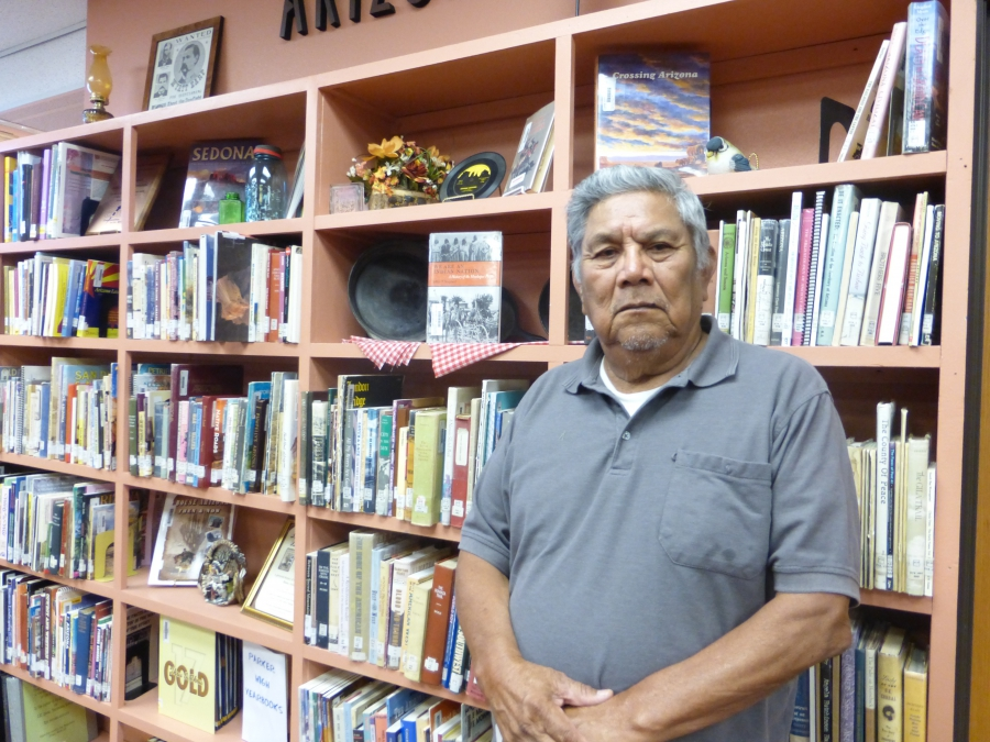 Ron Moore at the local Parker library