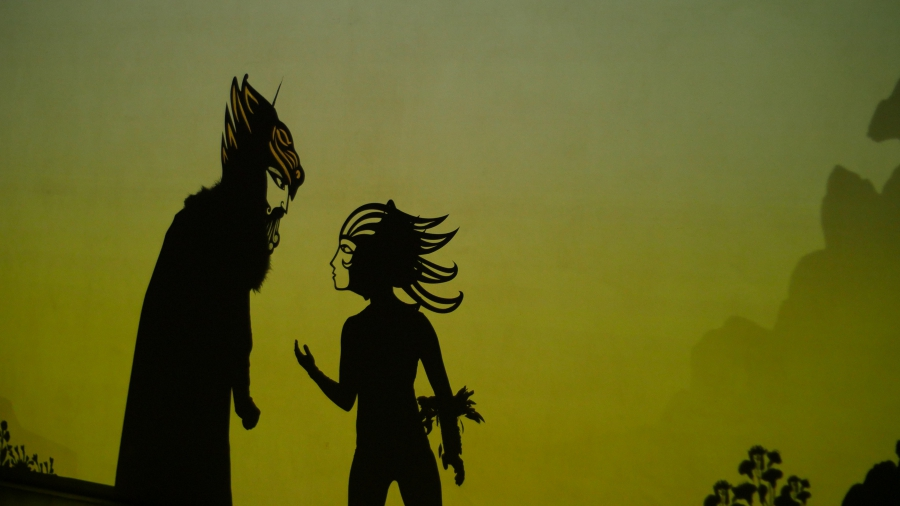 Shadow puppet play