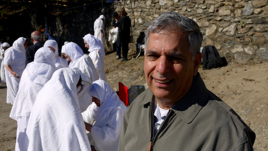 Sinan Abdullah is a dentist who describes himself as the first American-born Mandaean. He grew up in Iraq and lives near Worcester.