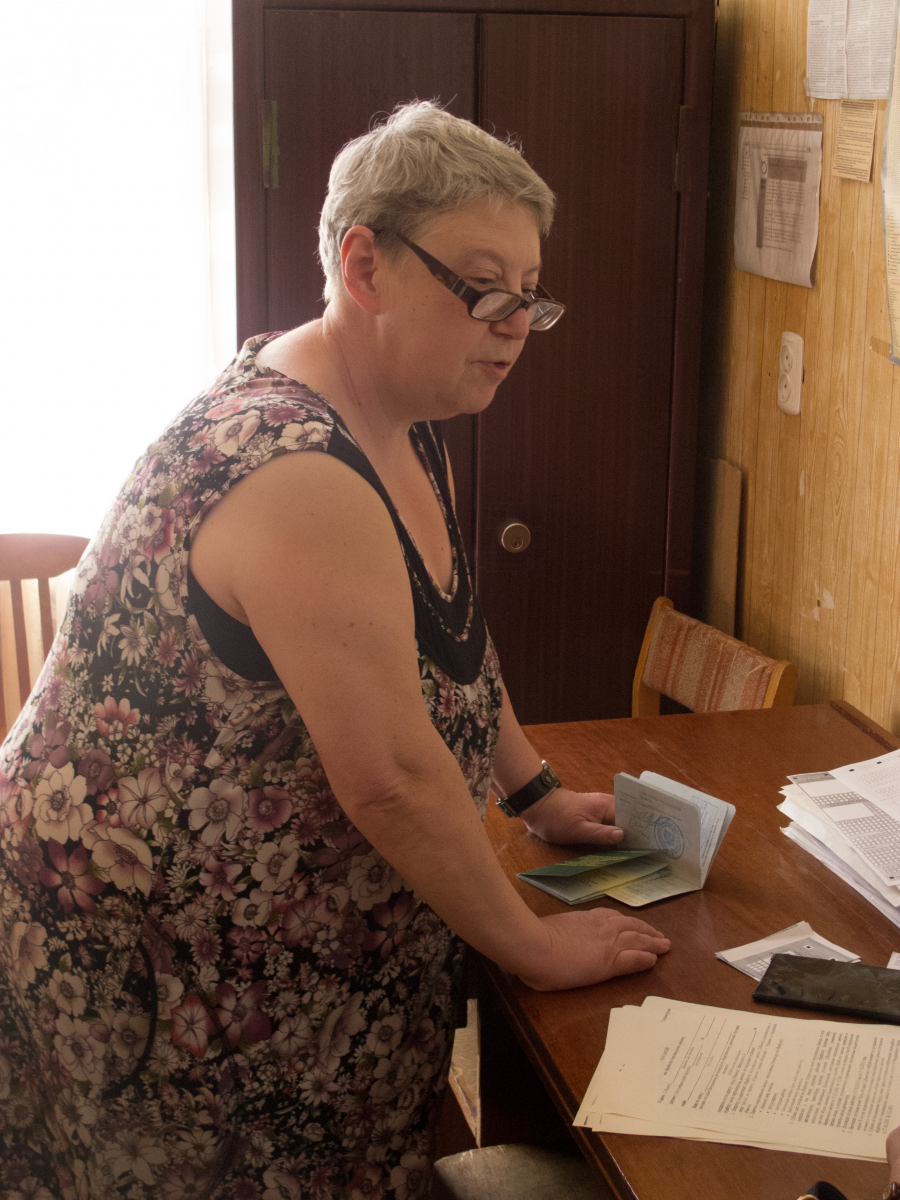 Tatiana Kotlyar, a member of the regional legislature outside Moscow, has helped over 1,000 Ukrainians obtain registration documents. Registering foreigners in homes where they don't physically live is illegal in Russia.