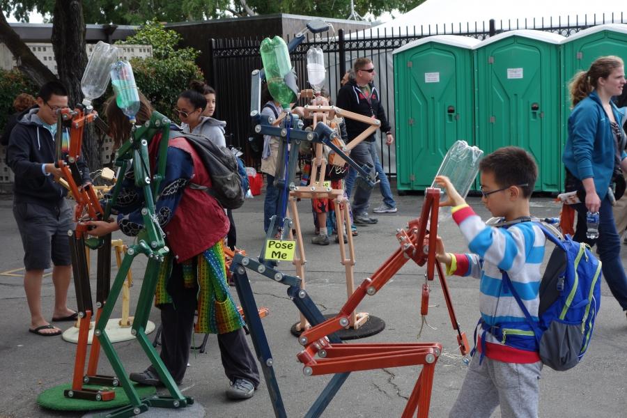 Exhibit at 2015 San Mateo Maker Faire