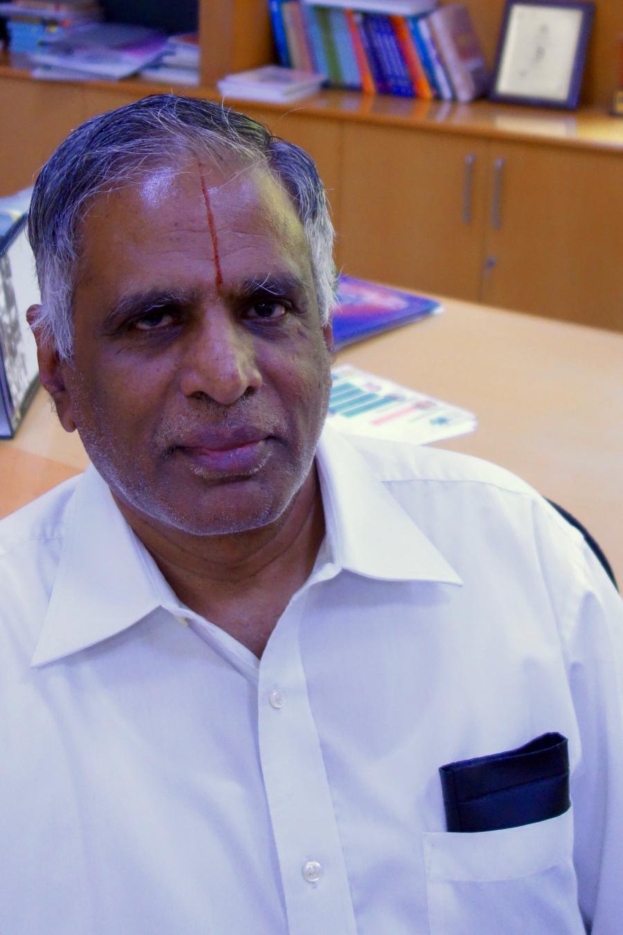 Professor S. Sadagopan heads Bangalore's International Institute for Information Technology