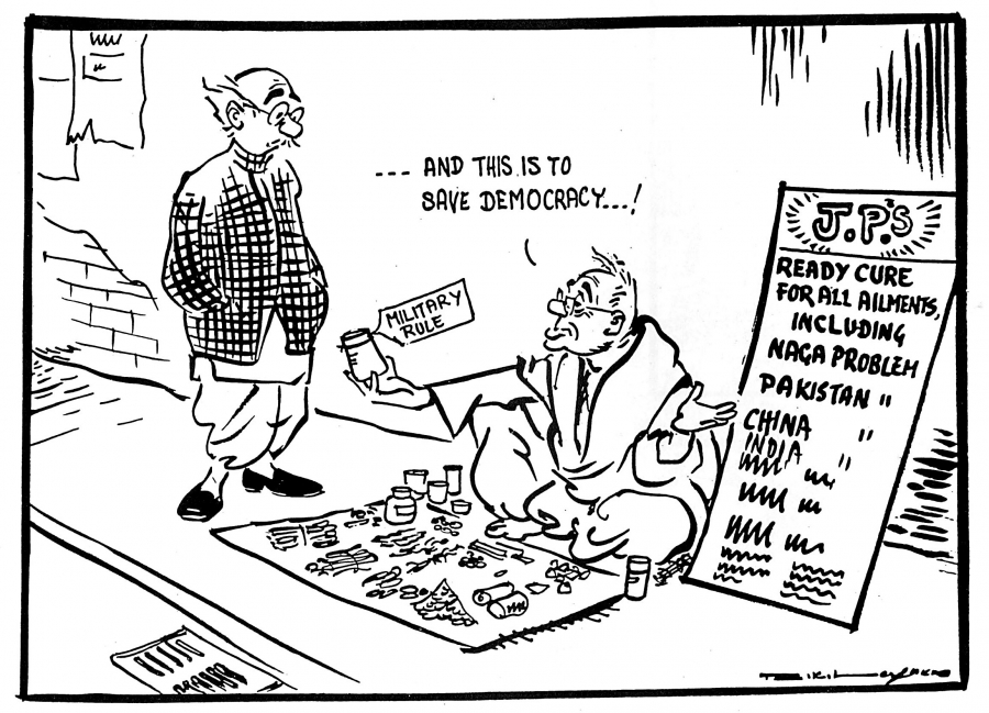 R.K. Laxman, cartoonist who chronicled India's first 60