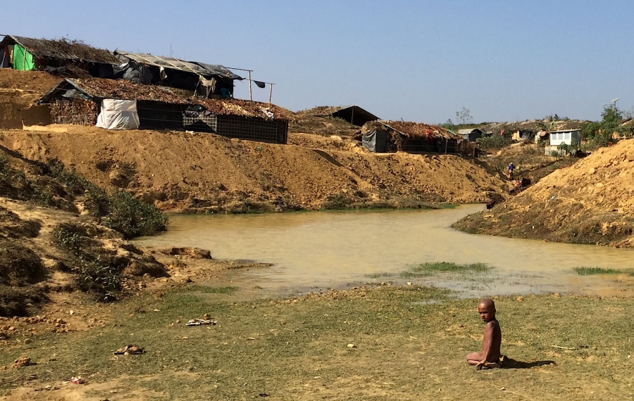 Kutupalong Refugee Camp Bangladesh