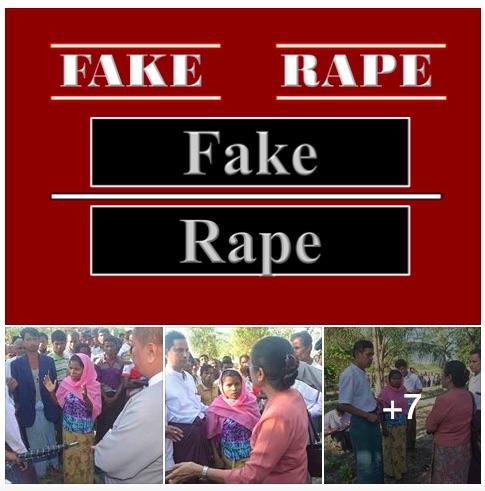 Fake rape myanmar