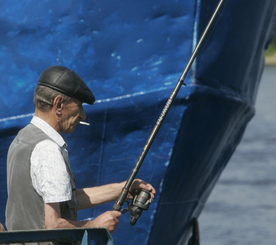 Narva fishing