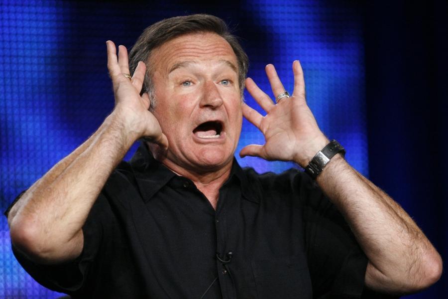 Comedian Robin Williams in 2009