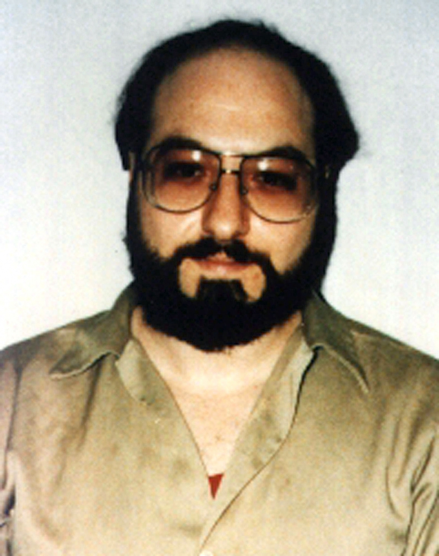 Jonathan Pollard is pictured in this May 1991 file photo, six years after his 1985 arrest.
