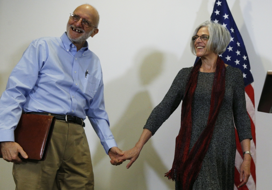 Released Cuban prisoner Alan Gross and his wife, Judy, are among guests invited by first lady Michelle Obama