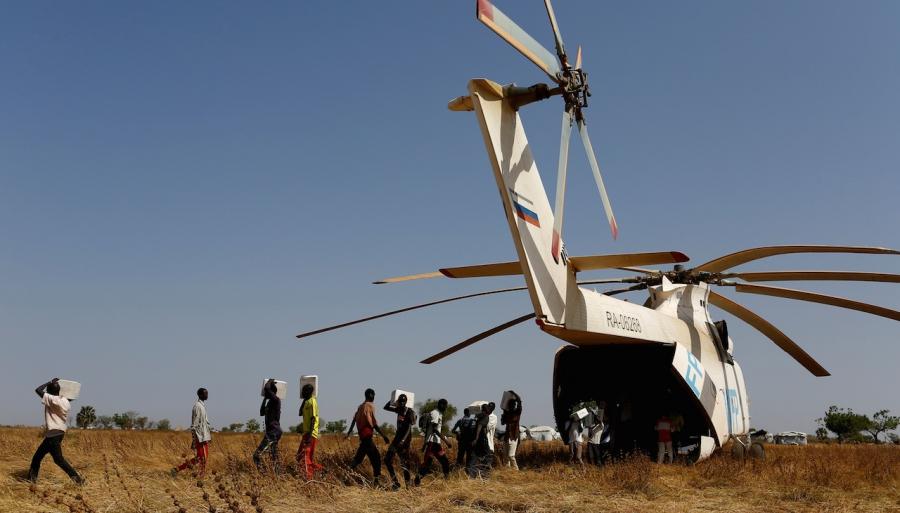 South Sudan famine UN WFP