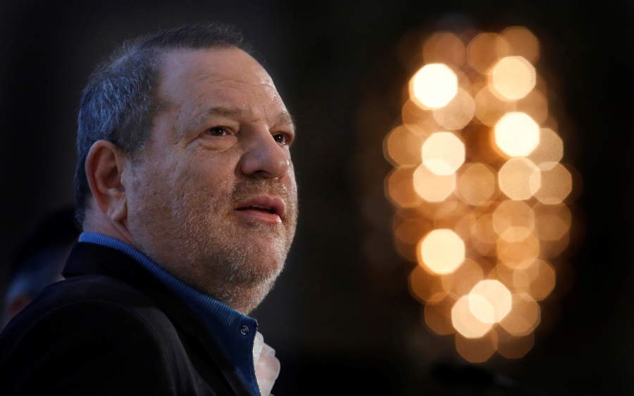 Harvey Weinstein speaks at the UBS 40th Annual Global Media and Communications Conference in New York, on Dec. 5, 2012.