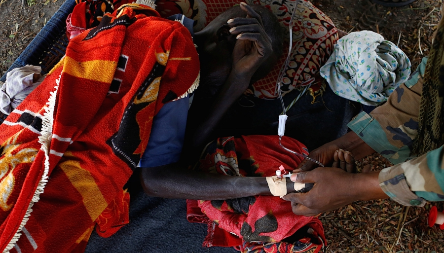 Starvation and crisis fuelled by the West