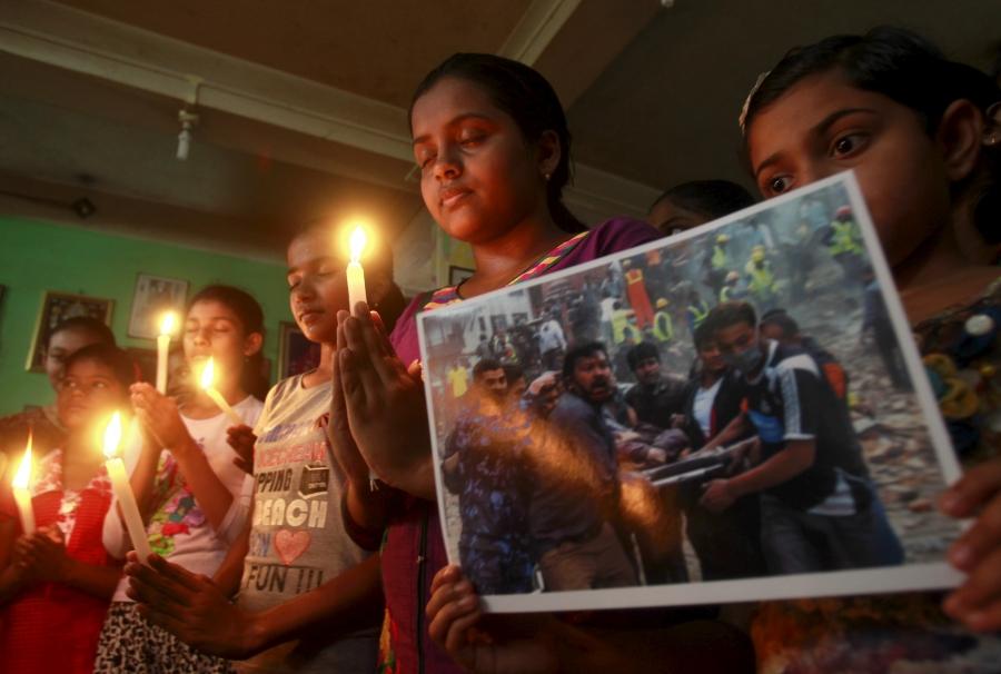 Prayer service in India